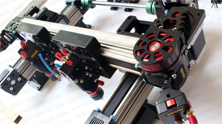 laser cutting machine linear rail guideways high power linear actuator professional manufacturer linear rail guideway double actuator mini way belt drive actuator for laser machine