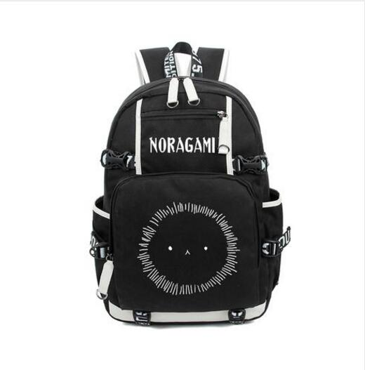Anime Noragami ARAGOTO YATO Backpack Bag Nylon Student Schoolbag Unisex Bags Laptop Shoulders Bag Gift noragami anime yato bishamonten japanese rubber keychain