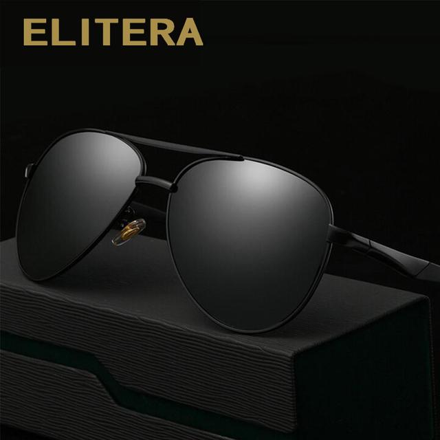 ELITERA Sunglasses Men Polarized Driving Sun Glasses Mens Sunglasses Brand Designer Fashion Oculos De Sol Masculino
