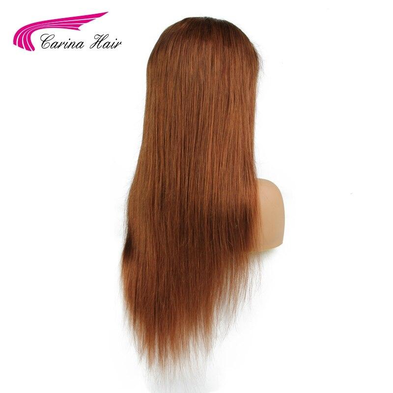 Carina Hair Full Lace Human Wigs Brazilian Remy Straight Hair