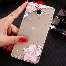XINGDUO Crystal Fashion Bling Case Cover Clear Soft Phone Shell Protection for Samsung Note 5 8 9 S10 S8 S9 S7edge S6 Plus