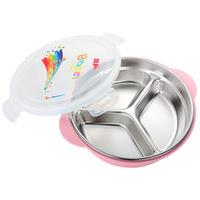 Creative Portable Kids Lunch Bento Box Hot Water Heating Food Container Bowls Outdoor Tableware Kitchen Gadgets