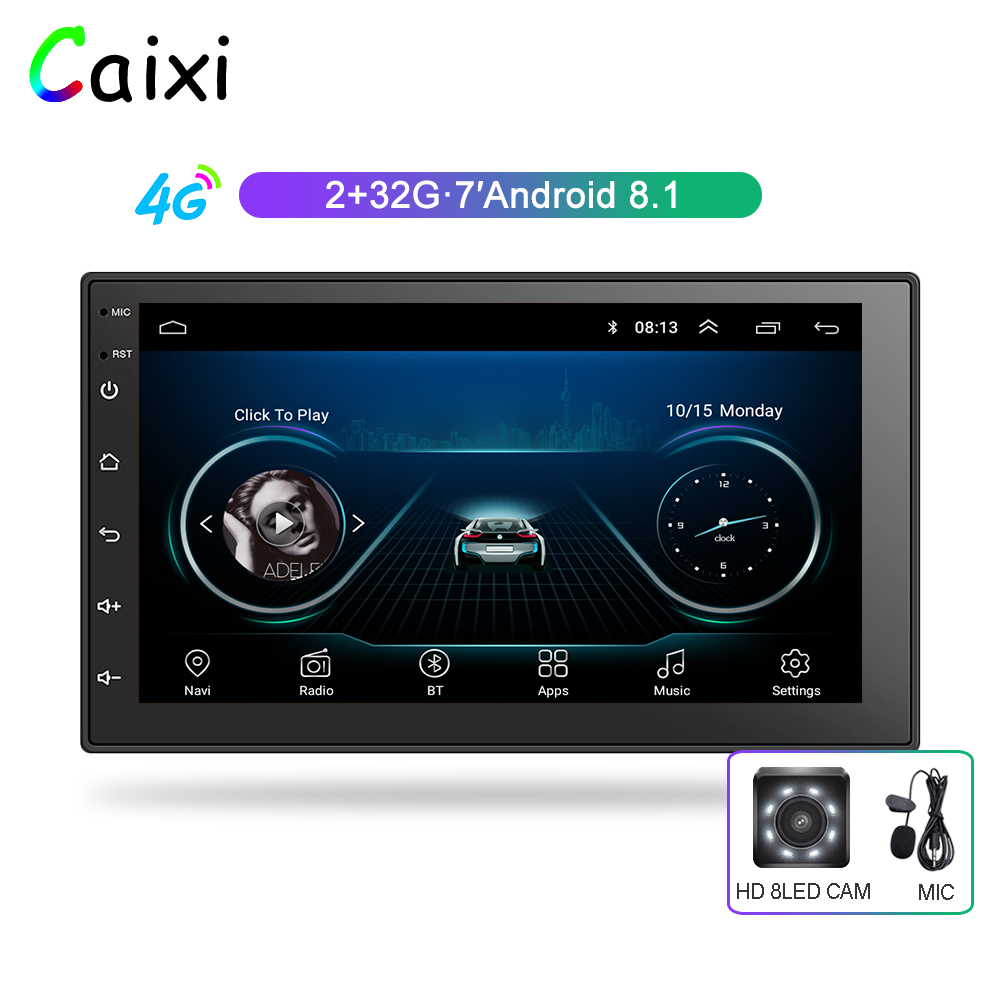 2Din Car Multimedia Player RAM2G ROM32G  2 din android radio Car Radio Universal Car  Player  For Nissan Toyota Kia Suzuki-in Car Multimedia Player from Automobiles & Motorcycles