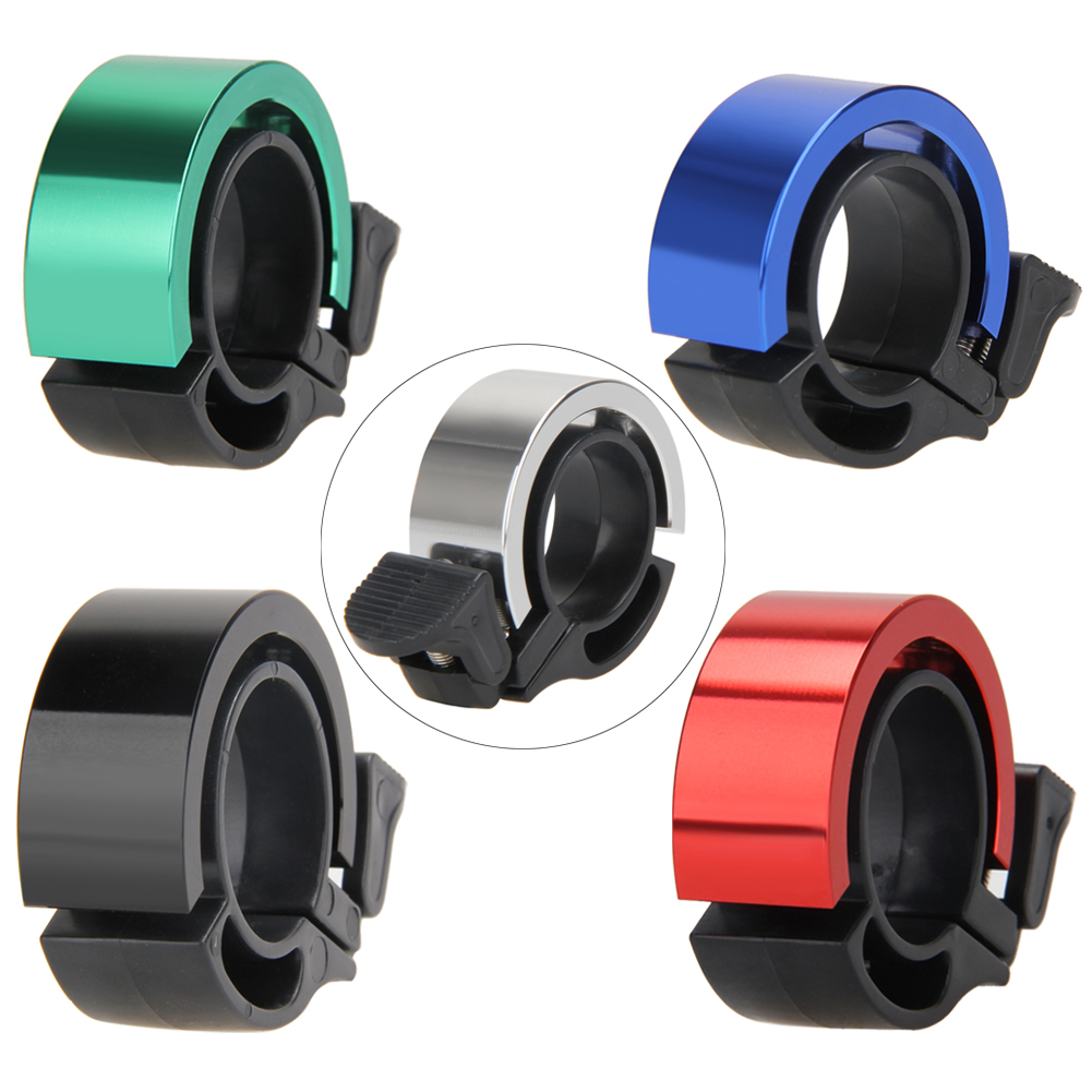 Invisible Bell MTB Mountain Road Bike Bell CNC Aluminum Alloy Cycling Bicycle Handlebar Ring Bells Safe Alarm Environmental Horn
