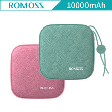 Romoss LC10 Portable External Battery 10000mAh Power Bank Quick Charging for iPhoneX For Xiaomi 18650