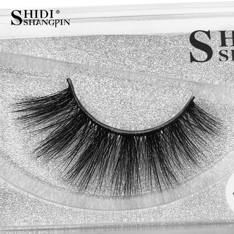 new 1 pair natural false eyelashes long fake eyelash Extension 3D mink lashes makeup thick Crisscross mink eyelashes faux cils