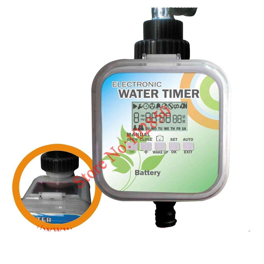 2 Режимы солнечные lcd электронный таймер для воды, солнечный заряд и функция остановки дождя таймер воды, садовый таймер для подачи воды Сделано в Тайване
