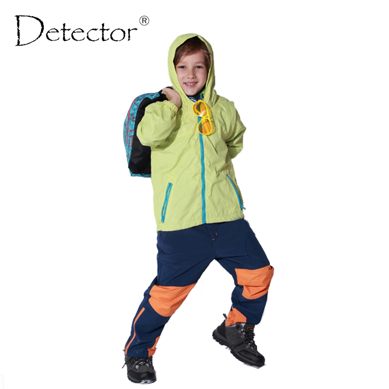 Children sport jackets for boys and girls outerwear Kids Coats Double-deck Waterproof Windproof Boys Brand Jackets
