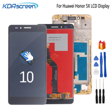 Original For Huawei Honor 5X LCD Display Touch Screen Digitizer Assembly Screen For Huawei GR5 5.5 inches KIW-L21 Screen LCD original new lcd screen 12 1 inches g121s1 l01