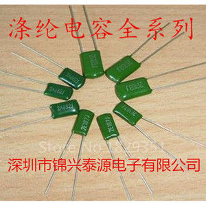 Image 1 - High quality 1000PCS/LOT Polyester capacitors Film Capacitor 2A104J 100V 0.1UF 100NF Pitch 5mm ic ...
