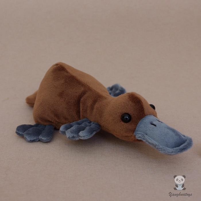 Simulasi Plush Toy Mainan Binatang Binatang Hadiah Kanak-kanak Platypus Sandbags Baby Doll