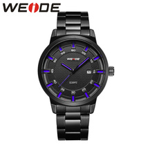 WEIDE stainless steel men's watches  luxury brand Clock automatico men waterproof sport Quartz Analog watch fashion & casual все цены