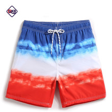 QIKERBONG Men Beach Shorts Boxer Trunks Board Shorts Casual Bermuda Men's Swimwear Swimsuits 2018 New Fashion Quick Drying(China)