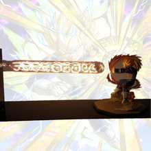 Dragon Ball Z Vegeta Super Saiyan Led Night Light Lamp Dragon Ball Lampara Son Goku Desk Lamp