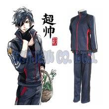 Japanese Anime Game Touken Ranbu Shokudaikiri Mitsutada Cosplay Costumes Halloween for man sport sweater and pants 2pcs suit