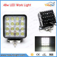 4INCH 48W LED WORK Light 12V OFF ROAD 4X4 Tractor TRUCK 24V MOTORCYCLE ATV Offroad Fog