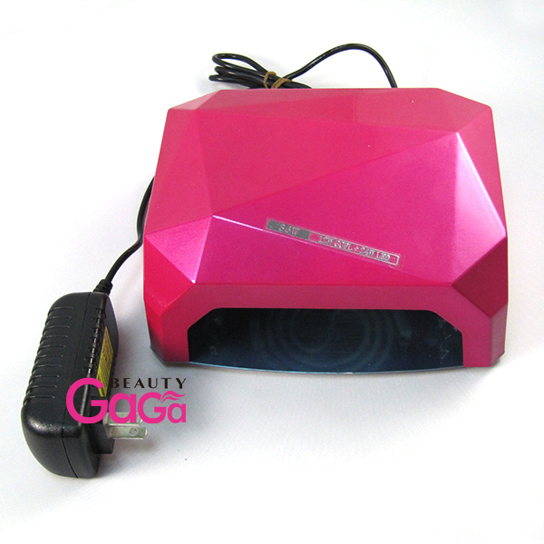 цена на 36W LED CCFL Rose Color Nail Dryer Lamp Diamond Shape Curing Nail Dryer Machine For UV Gel Nail Nails Tool