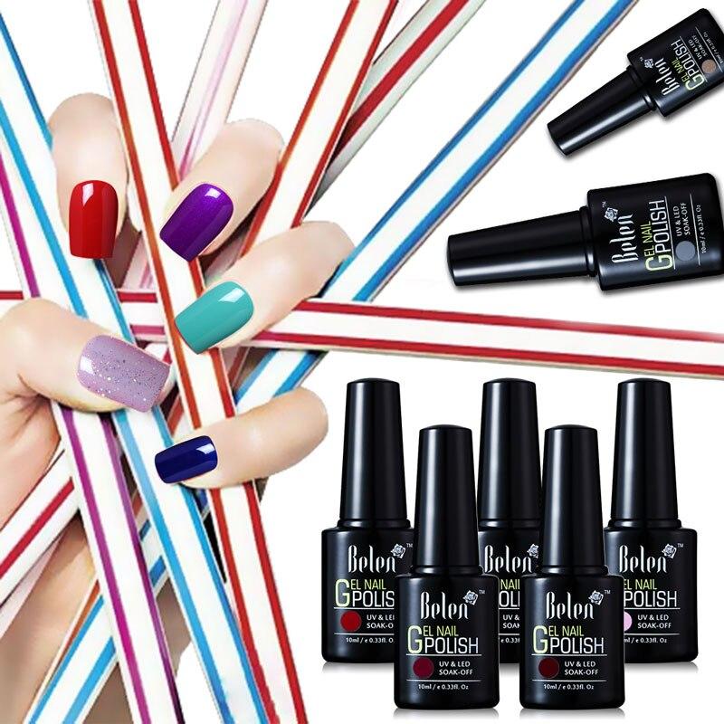 Nail Polish Online Stores: Aliexpress.com : Buy Belen 10ml Nail Polish Color UV Gel