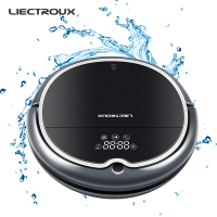 Free All LIECTROUX Robot Vacuum Cleaner Q8000 WiFi Wet Dry Mop 2D Gyroscope Map Navigation