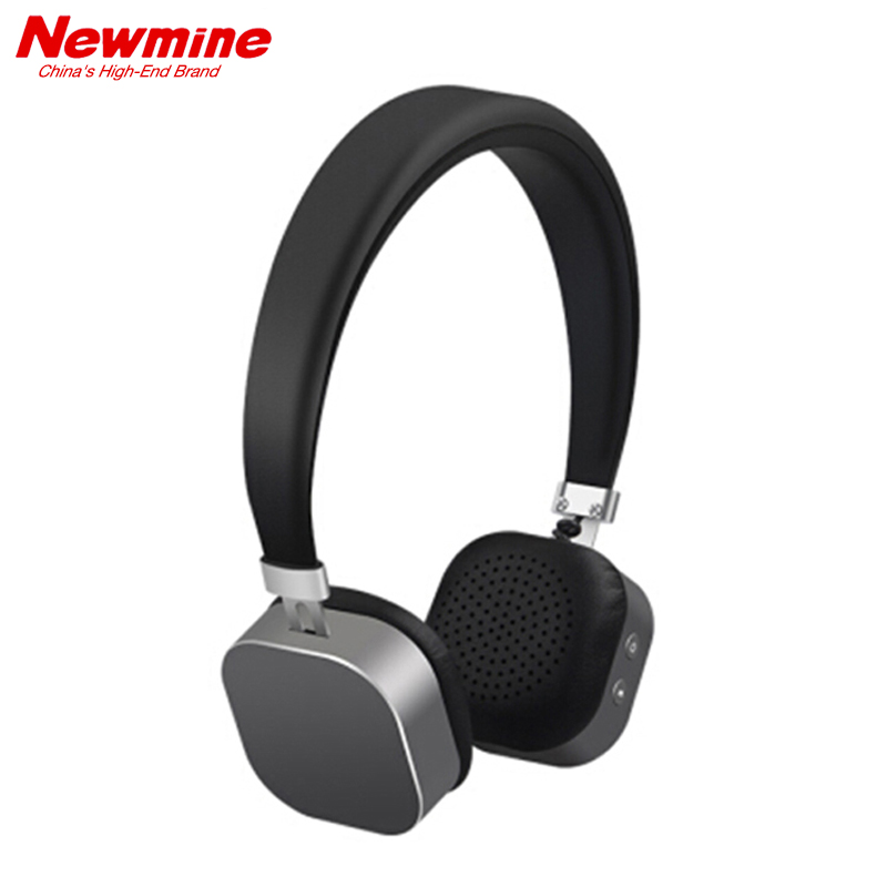 NEWSMY Original TB107 Bluetooth Headphones with MIC Wireless Headset Stereo Music Earphone  for PC Phone iPhone Samsung Xiaomi bluetooth earphone for phone original zobies cat bass earphones hifi music bluetooth headset wireless stereo earpiece for ipod 4