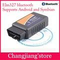 10 Unids/lote ELM327 Bluetooth OBDII V1.5 CAN-BUS herramienta de Diagnóstico del escáner (DHL Envío Gratis) $ NUMBER $ NUMBER DÍAS!!! PUEDE dropshipping Al Por Mayor