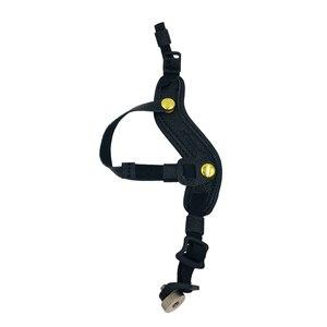 Image 5 - DSLR Kamera Gerçek Deri Kavrama Bilek Kayışı Yumuşak El Kavrama Evrensel Canon Nikon için D5000 D3200 Sony Olympus Kamera