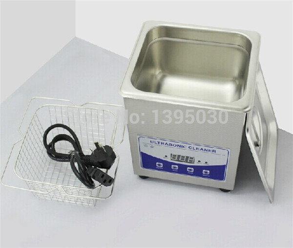 2L Digital Ultrasonic Cleaner for Glass/Jewelry Stainless Steel Shaver PCB Cleaning Machine JP 010T Mini Ultrasonic Cleaner