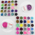 Nail Art Glitter Powder Brillantini Decoraciones Paillettes Poudre Nagel Poeder Flake Polvo Hexagonal Lentejuela Lentejuelas Decor Ongle