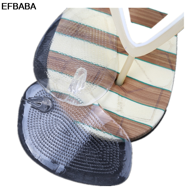 EFBABA Silicone Insole Pads Gel Cushions Flip-flops Pad Shock Absorbing Insoles Women High Heel Insole Shoe Accessoires Inserts