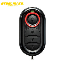 Steelmate 2017 100% Original 986E Motorcycle Alarm Moto Remote Engine Start Alarm Protection with Mini Transmitt