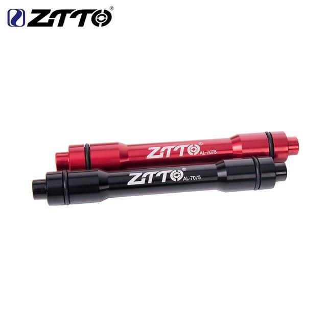 ZTTO przednie koło Thru oś Adapter 15MM Adapter 9MM QR szaszłyki rowerów Quick Release dla rowerów górskich MTB rower piasta przednia