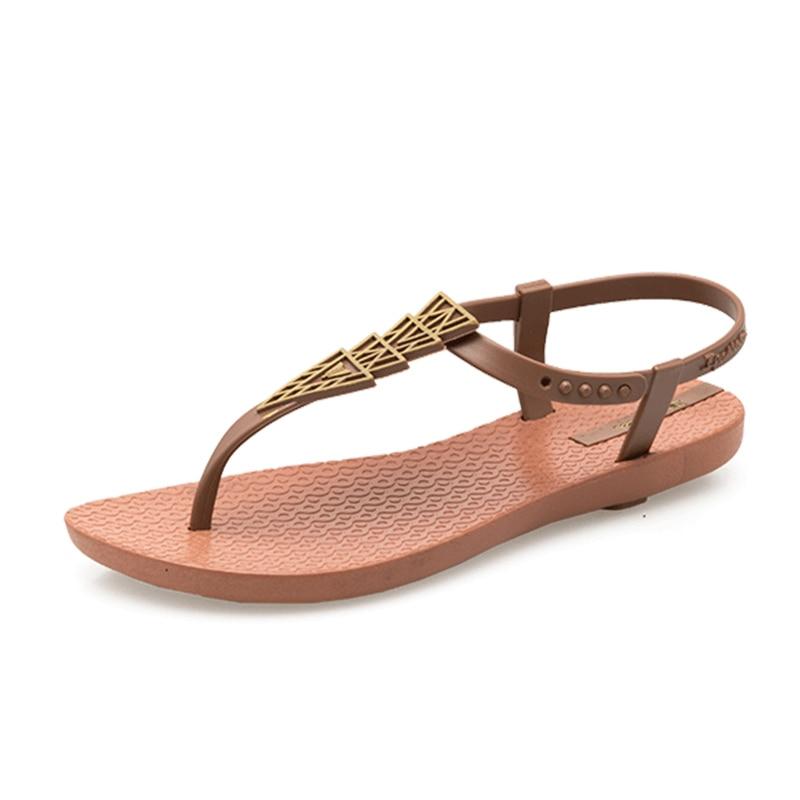 Las Bohemia Flip Zapatillas Marca Mujer De 2019 Plana Mujeres Playa Sandalias Damas 54A3LRjq