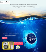 DHL Reloj GPS Tracker para Los Niños a Salvo Del GPS Del Reloj impermeable Q520S inteligente Reloj Localizador Del Buscador Del Perseguidor SOS de Llamada Perdida Anti GSM