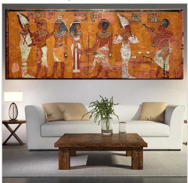 large artwork for living room 196 gyptischen dekor leinwand malerei 214 lgem 228 lde wandbilder 18051
