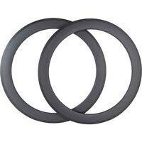 700c road bike wheel 60mm clincher tubeless 25mm width 700c brake side carbon rim UD 3K bicycle rim road rims bike wheel
