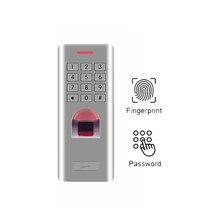 IP66 1000 пользователей автономный отпечатков пальцев кнопочная панель контроля доступа RFID считыватель для двери замок ворот контроля доступа по отпечаткам(без функции RFID