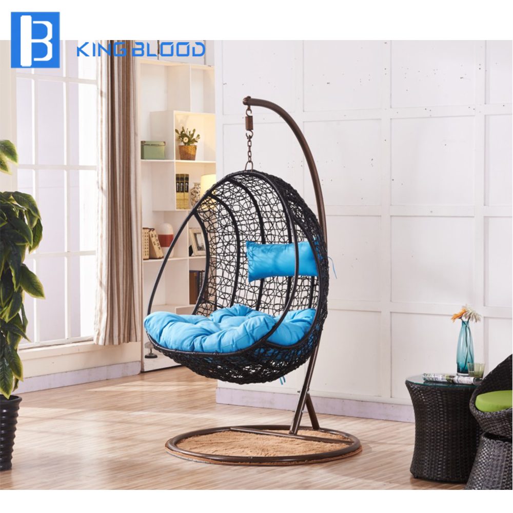 Extérieur Suspendu oeuf chaise patio jardin chaises pivotantes