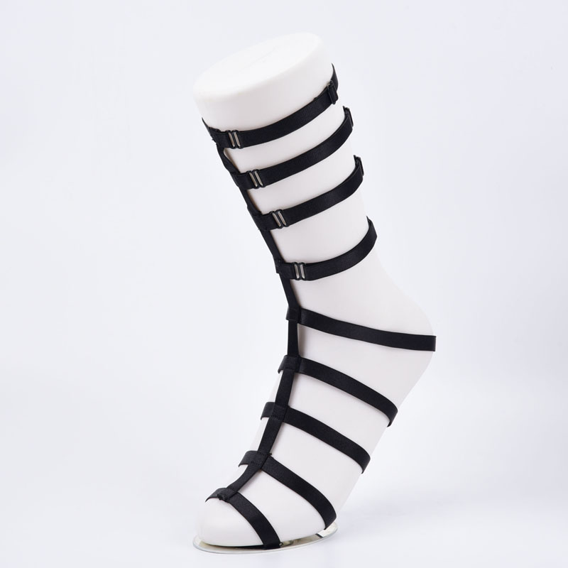Buy 1 Pair Foot Harness Fetish Foot Garters Women's Fetish Garters Belt Foot Bondage Leg Harness P0188
