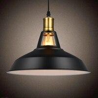 Vintage Industrial Lamp Copper Loft Pendant Lamp American Ndoor Decoration Droplight Retro Hanging Lamp Edison Bulb