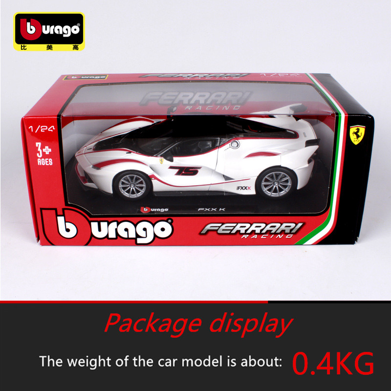 Bbuargo Ferrari 1 24 Simulation alloy super toy car model 34 styles For with Steering wheel control front wheel steering toy car in Diecasts Toy Vehicles from Toys Hobbies