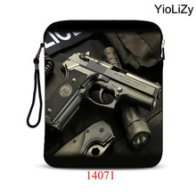 Skull print waterproof 9.7 inch laptop tablet bag notebook protective sleeve Case Cover For iPad Air 2 for ipad pro 9.7 IP-14071