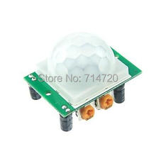 Wholesale prices HC-SR501 Human Sensor Module Pyroelectric Infrared for Arduino UNO R3 Mega 2560 Nano