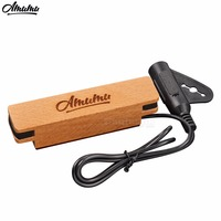 Eaglevox Log Acoustic Guitar Pickup For Steel Stringed Great Sound Easy To Install Or Uninstall AD33