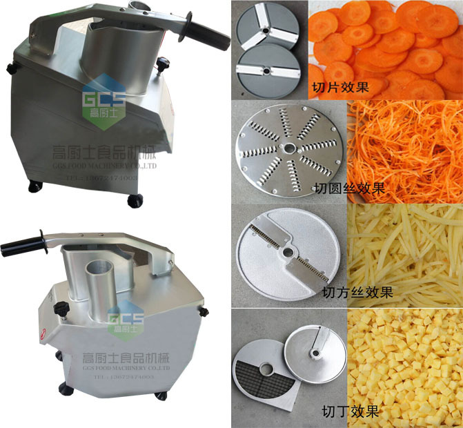 With Shipping Cost 110V/220v Multi-function vegetable cutter for roots and melons , can cut slice, diced and shreds, shipping cost for zamzam and zahraa