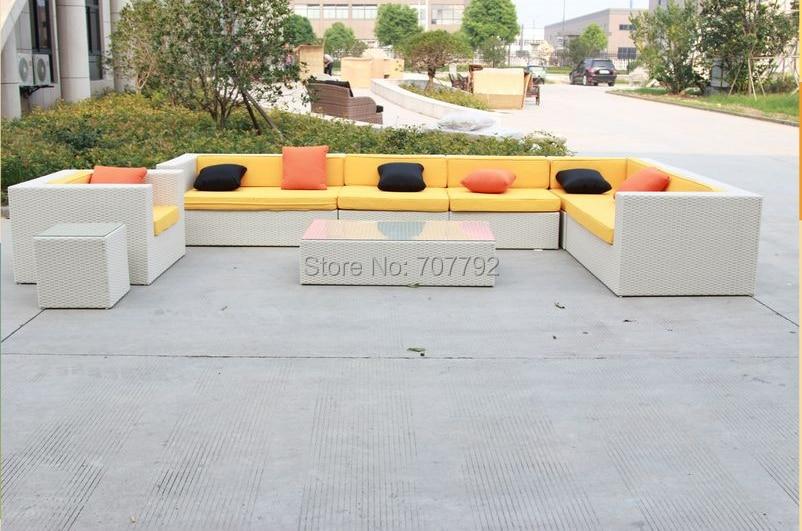 nueva barato conjunto de sofs de mimbre al aire libre muebles de jardn sof de