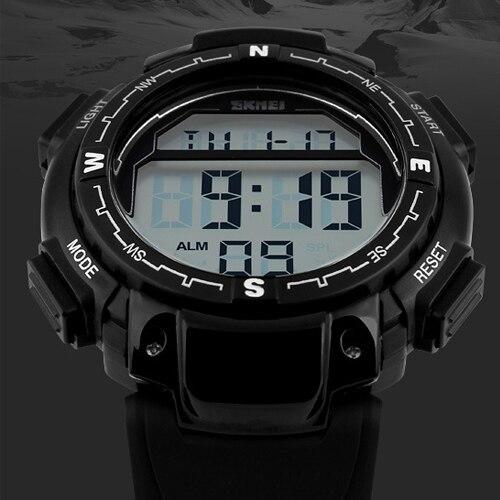 7142e46fc400 Marca hombre deportivo Digital relojes Reloj pulsera moda Casual relojes de pulsera  hombres del ejército negro
