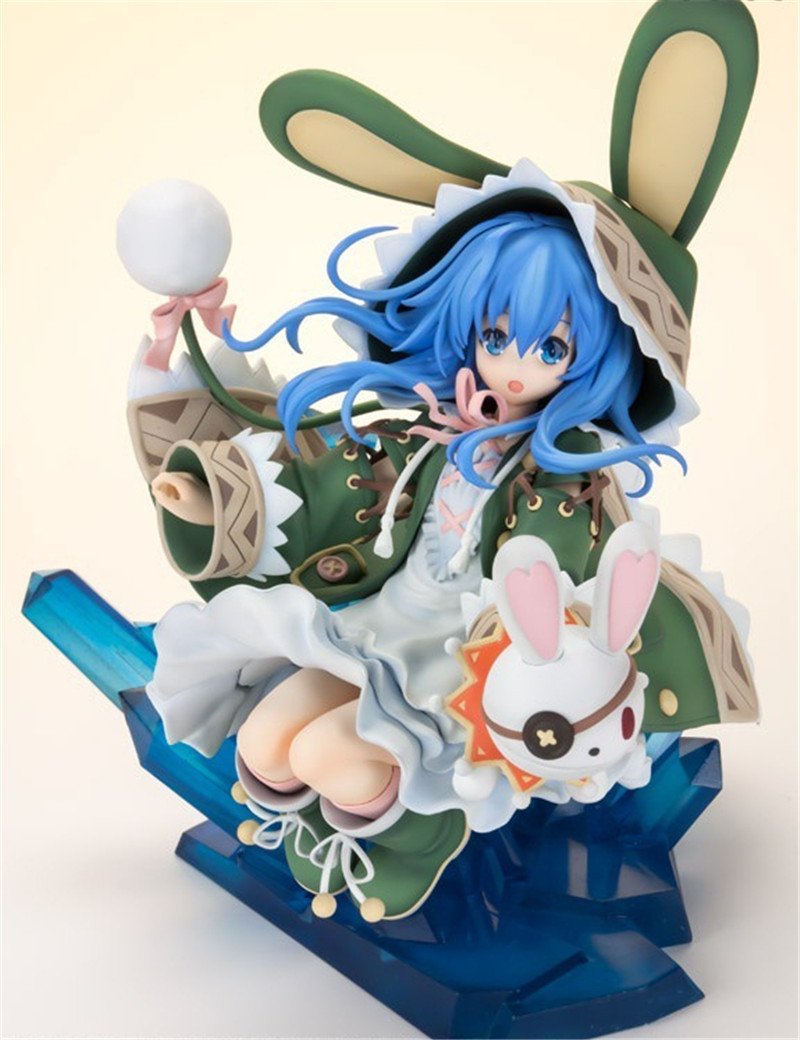 Japanese Anime Sexy Figures Dating War Date A Live Yoshino Brinquedos PVC Action Figure Figurine Model Kids Toys Doll 23CM one piece figure japanese one piece nico robin pvc 17cm action figures kids toys japanese anime figurine doll free shipping