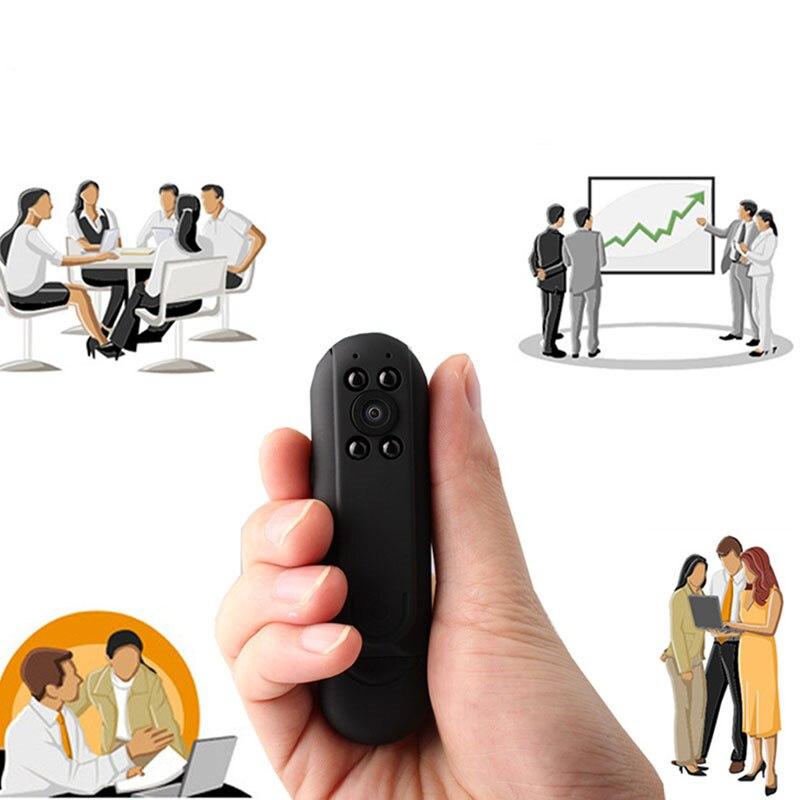DOITOP Mini Video Audio Camcorder 940nm Invisible IR Night Vision HD 1080P Monitoring Recorder Camera Micro SD/TF Card DV Camera