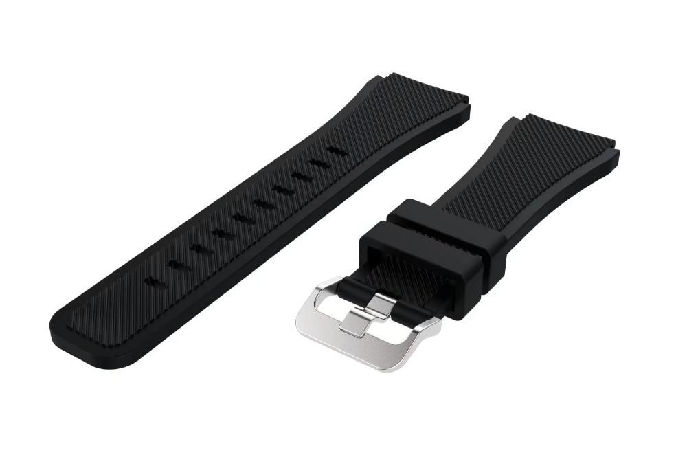 Correa de reloj de pulsera de silicona deportiva para Samsung Gear S3 - Accesorios para relojes - foto 4