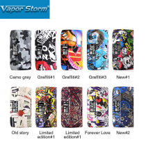 2018 New Vapor Storm230 TC Box MOD 200W Unique Graffiti Body with 0.96-inch OLED Display Fall-proof & Scratch-proof Design Mod(China)